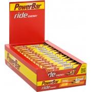 PowerBar Ride Sportvoeding met basisprijs Peanut-Caramel 18 x 55g geel/rood 2018 Sportvoeding