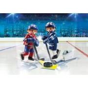 Playmobil NHL Blister Montreal Canadiens vs Toronto Maple Leafs