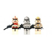 LEGO Star Wars Clone Trooper Trio