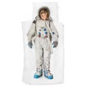 Snurk Astronaut dekbedovertrek Snurk-2-persoons 240 x 220 cm incl. 2 kussenslopen 60 x 70 cm