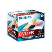 Philips DVD+R Philips 4.7GB 16X Jewell Case 10