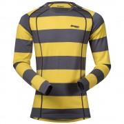 Bluza de corp 100% lana Merino Bergans Fjellrapp - Galben