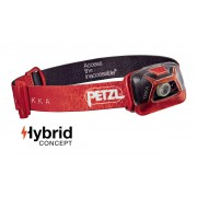 PETZL TIKKA headlamp Hybrid Concept 200 Lumens [Colour: Red]
