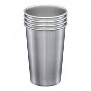 Klean Kanteen Steel Pint Mugg 473 ml 4-pack Borstat stål