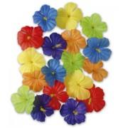 18 Flores adorno hawaianas