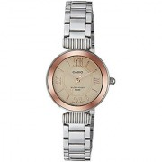 Casio Enticer Ladies Analog Rose Gold Dial Womens Watch-Ltp-E405D-9Avdf