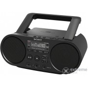 Radio-CD portabil Sony ZS-PS50 CD Boombox, negru