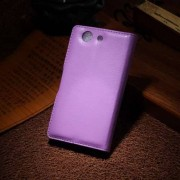B2Ctelecom Sony Xperia Z3 Compact Stand Case Hoesje Paars