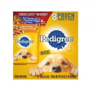 Pedigree Choice Cuts Variety Pack Beef & Chicken Wet Dog Food, 3.5-oz, case of 8