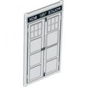 6132561 Geam 1 X 4 X 6 - decorat - POLICE PUBLIC CALL BOX