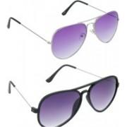 Redleaf Aviator Sunglasses(Violet)