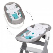 Sezlong Alpha Bouncer 2 in 1 Hearts Grey