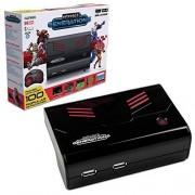 Retro-Bit RB-PP-6539 Plug and Play- Consola de Juegos Retro, edición estándar, color rojo/negro Standard Edition