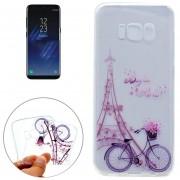 Samsung Galaxy S8 Torre Bicicleta Patron Imd Calidad Tpu Suave Estuche Protector
