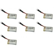 7 x Quantity of WLtoys V343 Sea-Glede 3.7v 240mAh Lipo Battery Rechargeable Power Pack - FAST FROM Orlando