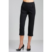 Womens Capture Superstretch Pull-on Crop - Black Trousers