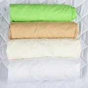 Set 4 x Cearsaf BabyNeeds cu elastic 140x70 cm
