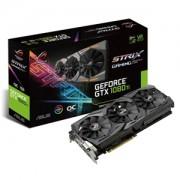 Placa video ASUS ROG Strix OC GeForce GTX 1080 Ti, 11GB GDDR5X, 352-bit, ROG-STRIX-GTX1080TI-O11G-GAMING