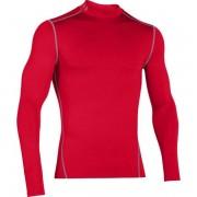 Under Armour UA Coldgear Armour Compression Mock - maglia a compressione fitness - uomo - Red