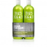 Tigi bed head re-energize 750ml shampoo + 750ml conditioner balsamo