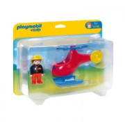 PLAYMOBIL® 1 2 3 Brandweerhelikopter 6789