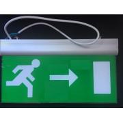 Vészvilágító LED lámpatest (JOBB / BAL) 3 óra