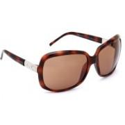 Valentino Rectangular Sunglasses(Brown)