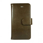 Radicover Mobilcover iPhone 7 brun PU læder - 1 Stk