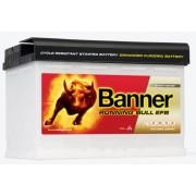 Banner Running Bull EFB 12V 70Ah autó akkumulátor EFB 570 00 jobb+ (+AJÁNDÉK!)