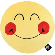 Smiley World Expression Happy Face Soft Cushion 16 Inches Yellow by Ultra
