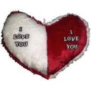 Valentine Jumbo Heart Cushion Red (18x16-inch)