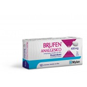 "MYLAN SpA Brufen Analg, ""400 Mg Compresse Rivestite Con Film""12 Compresse In Blister Pvc/aclar/al/vmch"""