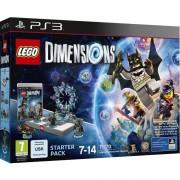 Warner Bros LEGO Dimensions: Starter Pack PS3 Batman™, Gandalf™, Wyldstyle™, Batmobile™ (71170)