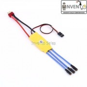 4pcs 30A ESC 30Amp Brushless Electronic speed controller for MultiCopter KK DJI F450 Quadcopter by Invento