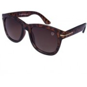 TOM MARTIN Wayfarer Sunglasses(Golden)
