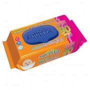 Aquella Soft Hygienic tisztítókendő 90 db-os, kupakos