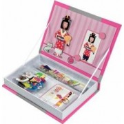 Jucarie copii Janod Magnetibook - Girl Outfits