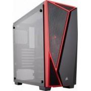 Carcasa Corsair Carbide SPEC-04 Tempered Glass Black-Red