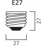Diolamp SMD LED reflektorová žárovka matná R80 15W/E27/230V/4000K/1280Lm/120°/A+