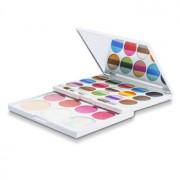 MakeUp Kit AZ 01205 (36 Colours of Eyeshadow 4x Blush 3x Brow Powder 2x Powder) - Trusă de Machiaj AZ 01205 (36 de Culori de Fard de Pleoape 4x Fard de Obraz 3x Pudră Sprâncene 2x Pudră )