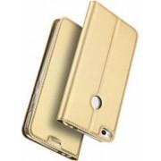Husa carte flip wallet Dux Ducis pentru Huawei P8 LITE 2017-Honor 8 Lite-Nova Lite-Huawei P9 Lite 2017 auriu