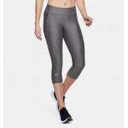 Under Armour Damescapri HeatGear® Armour - Womens - Gray - Grootte: Small