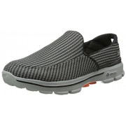 Skechers Performance Men's Go Walk 3 Slip-On Walking Shoe Charcoal/Orange 8.5 D(M) US