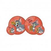 Tom és Jerry gumilabda, 14 cm I.