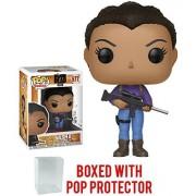 Funko Pop! TV: The Walking Dead - Sasha #577 Vinyl Figure (Bundled with Pop Box Protector Case)
