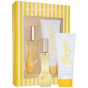 Giorgio Beverly Hills Yellow lote de regalo I. eau de toilette 90 ml + leche corporal 200 ml