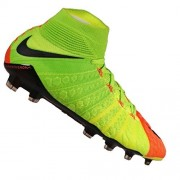 Nike Mens Hypervenom Phantom III Dynamic Fit FG Cleats [ELECTRIC GREEN] (8)