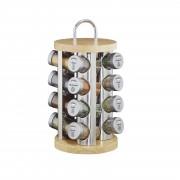 Комплект бурканчета за подправки със стойка Küchenprofi 17 части
