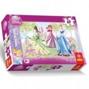 Puzzle 3 printese Aurora Belle Cenusareasa - 60 pcs Trefl