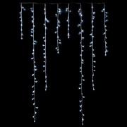 Luci Da Esterno Stalattite 3 x 0,8 m, 128 LED 2 Colori: Bianco o Multicolor